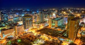 Nairobi at night. Photo courtesy of chelipeacock.coml